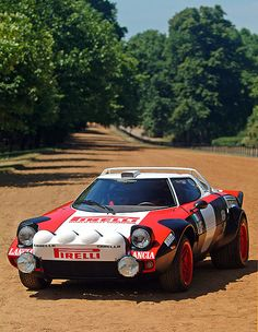 Lancia Stratos, one of the best Rally Cars in the World.