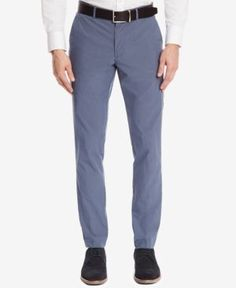 Boss Men's Slim-Fit Chino Pants - Gray 4
