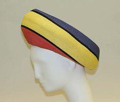 Halston Hat , crazy .... Straw ... 60 65//