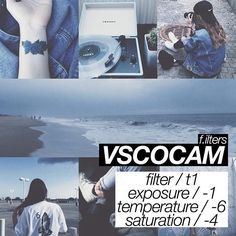 VSCO CAM - Ultimate guide to editing your insta pics! Vsco Photography, Photography Filters, Photography Editing, Senior Photography, Images Instagram, Feeds Instagram, Fotografia Vsco, Vsco Effects, Vsco Feed