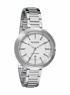 Nixon Tessa White Dial Stainless Steel Ladies Watch A246100 NIXON. $235.00. Save 22% Off!