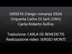 GRISETA - Carlos Di Sarli - Traduzione in italiano