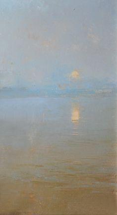 "Alexey Alpatov. Fragment. Oil, canvas. 2004. private collection ""Олимпик в Саутгемптоне в мае 1922 года"" (фрагмент) 2004.х.м."