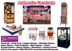 6 Ideas for a Summer Wedding / Bar  Bat Mitzvah / Party - Carnival Games from Interactive Entertainment Group - mazelmoments.com