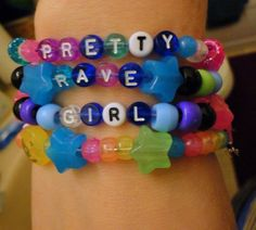 ~~pretty rave girl~~