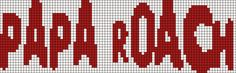 Alpha Pattern #7617 Preview added by Artstar2 Papa Roach