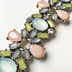NWT J. Crew Pastel Cluster Bracelet This is a stunningly beautiful pastel cluster bracelet from J. Crew Factory. Has an extender chain to fit any wrist. New With original J. Crew tag. Questions? Please ask. Sorry, no trades. J. Crew Jewelry Bracelets