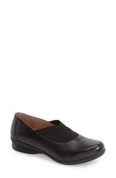 Dansko 'Ann' Round Toe Flat (Women)