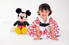 Vestido Infantil Minnie Baby. Mais modelos de vestidos de festa infantil no site http://www.eroupasdebebe.com/vestidos-de-festa-infantil
