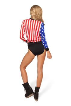 Amerika Bomber Jacket - LIMITED - Black Milk Clothing