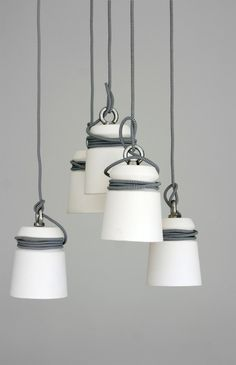 unique ceramic pendant lights