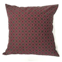 A personal favorite from my Etsy shop https://www.etsy.com/listing/214797825/shwe-shwe-cushion-covers-dark-pink