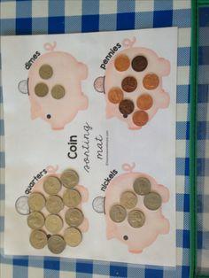 Money mat