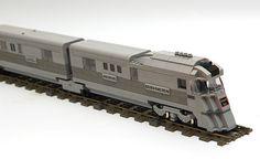 Pioneer Zephyr #flickr #LEGO #train #MOC