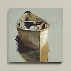 Brown on Warm Gray Art