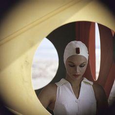 Gordon Parks, Jeweled Cap, Malibu, California, 1958.