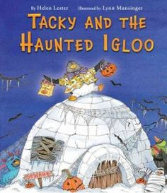 JJ FAVORITE CHARACTERS TACKY. Tacky is not very helpful as Goodly, Lovely, Angel, Neatly, and Perfect plan and prepare for Halloween, turning their igloo into a haunted house and making treats, but while Tacky is finishing his costume something really frightening arrives, and only he can chase it away.
