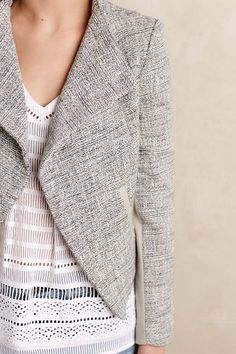 Aston Tweed Jacket - anthropologie.com #anthrofave