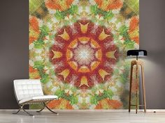 Foto #Tapete Musterung Retro, Home Decor, Photos, Self Adhesive Wallpaper, Photo Wallpaper, Wall Papers, Patterns, Nice Asses, Decoration Home