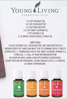 Young Living Essential Oils: Lotion