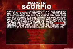 Mars in SCORPIO AstroConnects