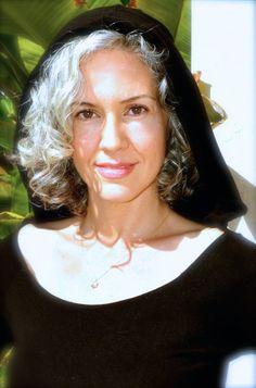 Sara Davis-Eisenman #silverhair #grayhair #jedi