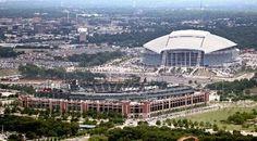 Rangers Ballpark, Dallas Cowboys stadium - in Arlington, TX