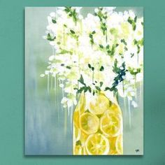 You'll love the 'Limoncello' Graphic Art on Wrapped Canvas at Birch Lane - With Great Deals on all products and Free Shipping on most stuff, even the big stuff.