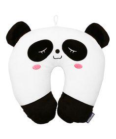 Snuggie Panda Neck Pillow   zulily