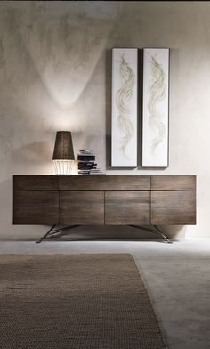 Luxury Modern Italian Designer Oak Sideboard at Juliettes Interiors. Entryway Furniture, Entryway Decor, Modern Furniture, Home Furniture, Furniture Design, Bedroom Decor, Entryway Ideas, Lobby Furniture, Entryway Lighting