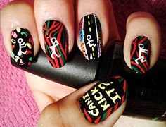 A TRIBE CALLED QUEST: 'MIDNIGHT MARAUDERS'....... holy shit, i want these nails.