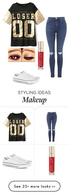 """""""Untitled #296"""" by fangirlmuch on Polyvore featuring Topshop, Converse and Smith & Cult"""