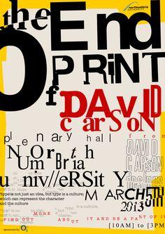 New art gallery poster design fonts Ideas David Carson Design, Graphic Design Posters, Graphic Design Typography, Graphic Design Illustration, Typography Inspiration, Graphic Design Inspiration, Timeline Design, Timeline Project, Pop Art