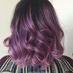 Beautiful purple hair by @salonvoguehair I need this in my http://www.qunel.com/ fashion street style beauty makeup hair men style womenswear shoes jacket