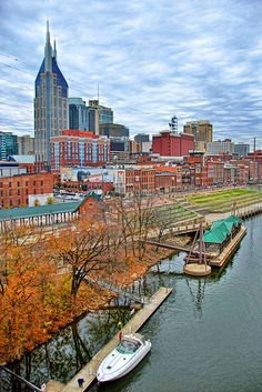 Nashville, Tennessee.  Nashville in the Fall, beautiful.
