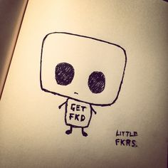 'Little FKRS - Get FKD!' Doodle-a-day #36. ‪#‎doodle‬ ‪#‎doodleaday‬ ‪#‎drawing‬ ‪#‎sketch‬ ‪#‎sketchbook‬ ‪#‎scribble‬ ‪#‎sharpie‬ ‪#‎character‬ ‪#‎design‬ ‪#‎art‬ ‪#‎artist‬ ‪#‎illustration‬ ‪#‎rhodia‬ ‪#‎littlefuckers‬ ‪#‎cute‬ ‪#‎emenel‬ ‪#‎21lions‬
