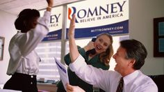 Report On Continuing Plight Of Millions Of Unemployed Americans Results In Round Of High-Fives At Romney Campaign Headquarters   The Onion - America's Finest News Source