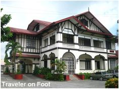 The recollection was like being part of a sepia photograph set in a steep but wide staircase of an old yet well-kept house. We stepped on a gracious caida surrounded by capiz windows to b… Filipino Architecture, Philippine Architecture, Spanish Design, Spanish Style, Modern Filipino House, House Arch Design, Different House Styles, Philippine Houses, Bamboo House