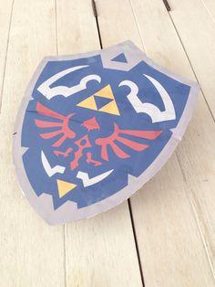 #Hyrule #Shield #Pattern #DIY #Zelda #Link #Schild #Freebook