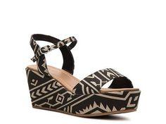Diba Wales Aztec Wedge Sandal | DSW