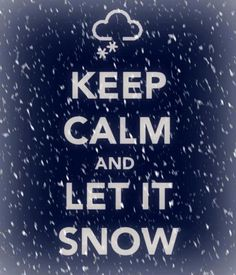 Keeping our fingers crossed for more snow!! pinned with Pinvolve