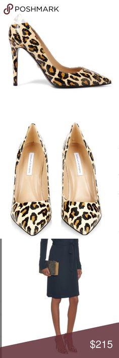 DVF Leopard Print Pumps 🎀 Diane Von Furstenberg leopard pumps. Brand new in box! Diane Von Furstenberg Shoes Heels