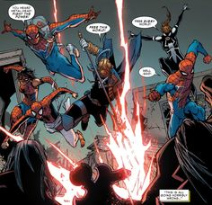 Spiders attack! (from Amazing Spider-Man #14 (vol. 3))