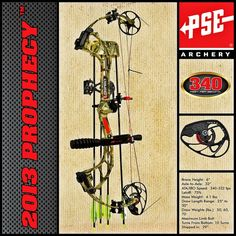 PSE's Prophecy™…A Vision of Things to Come! #archery #bows @psearchery