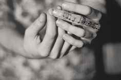 finger tattoo - would love to be able to do this! especially the music notes! <3