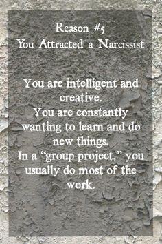"""These """"reasons you attracted a narcissist"""" tips are trying to turn me into one! Narcissistic People, Narcissistic Behavior, Narcissistic Abuse Recovery, Narcissistic Sociopath, Narcissistic Personality Disorder, Disorders, Verbal Abuse, Emotional Abuse, Frases"""
