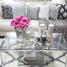 Living Room Decor, Bedroom Decor, Inspire Me Home Decor, Rental Decorating, Glam Room, Girl Decor, Luxury Home Decor, Decoration Table, Dream Decor