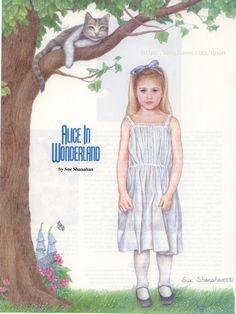 종이인형 (alice in wonderland) : 네이버 블로그
