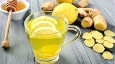 Lemon and ginger tea - detox minceur Superfood, Tea Recipes, Healthy Recipes, Detox Recipes, Ginger Drink, Fresh Ginger, Ginger Syrup, Fresh Mint, Maple Syrup