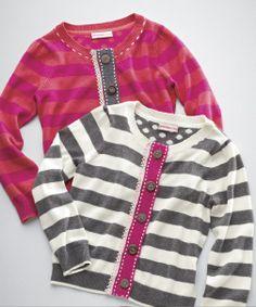 Design History Striped Cardigan for Girls #Nordstrom #NSale